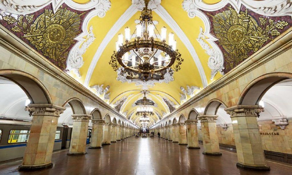 Карта метро Санкт-Петербурга 2019