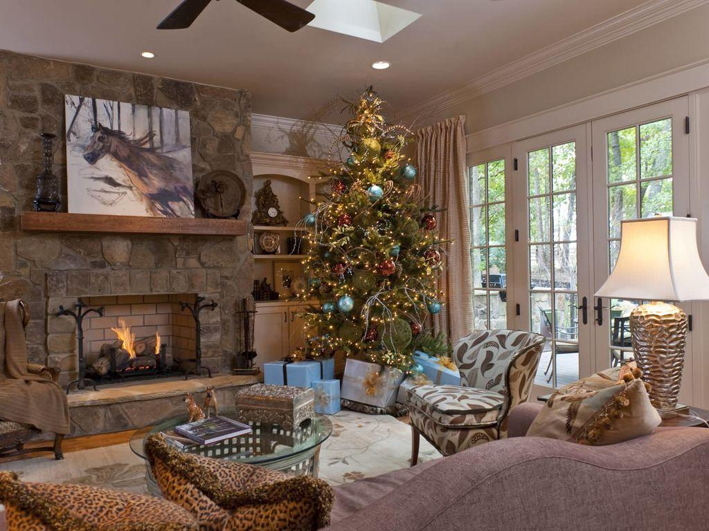 Как украсить дом на Новый Год 2019