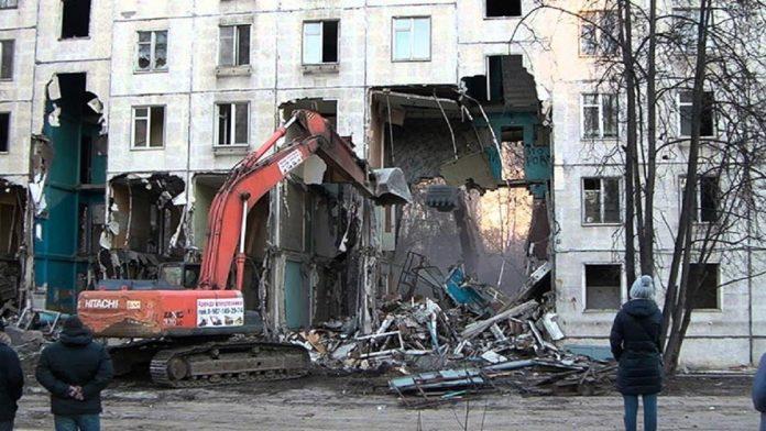 График сноса пятиэтажек в Москве на 2019 год