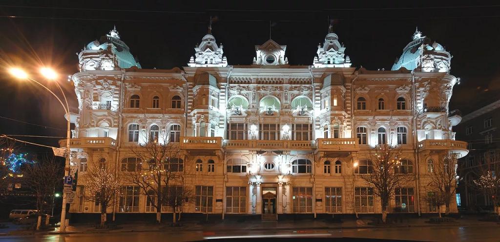 Новый год в Ростове на Дону 2019