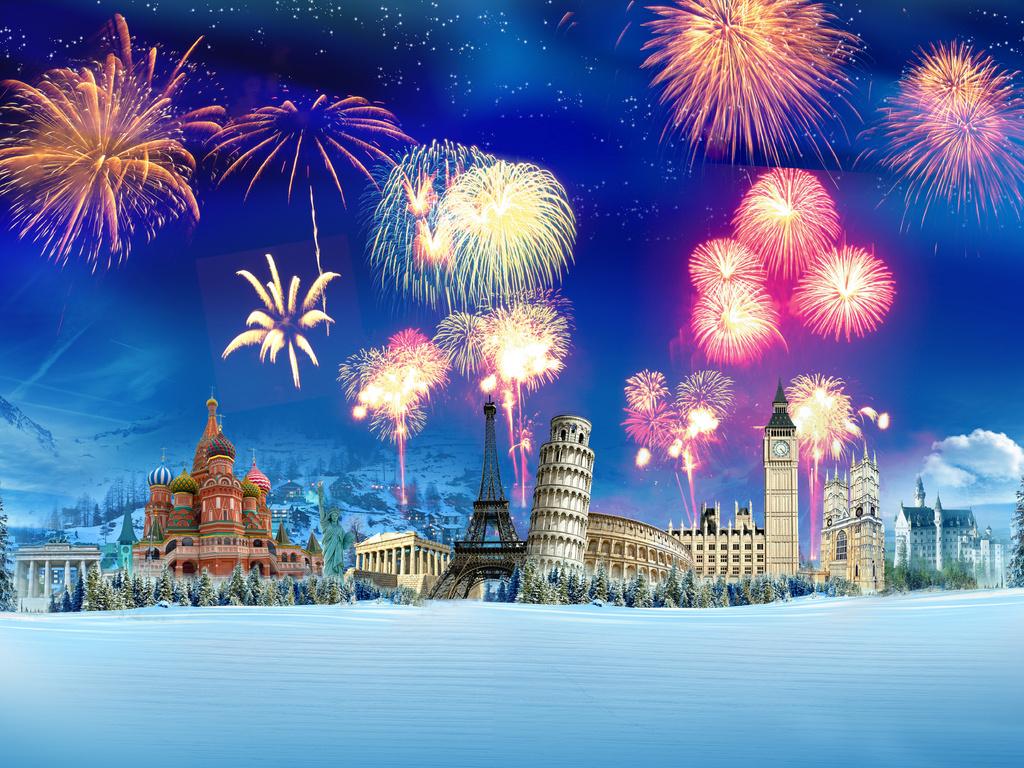 Салют на Новый год 2019 в Москве
