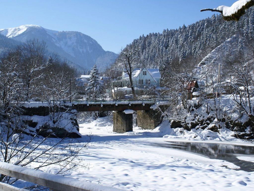 Отдых в горном Алтае на Новый год 2018