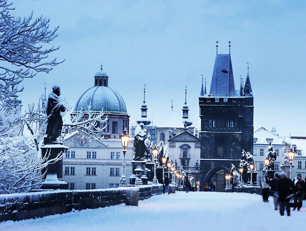 Новый год в Праге 2019