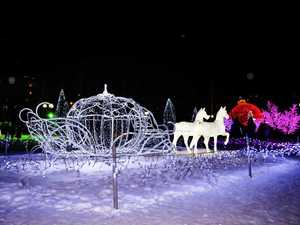 Новый год в Нижнем Новгороде 2019