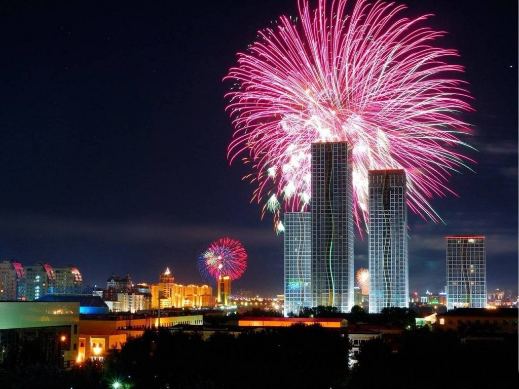 Новый год в Казахстане 2019