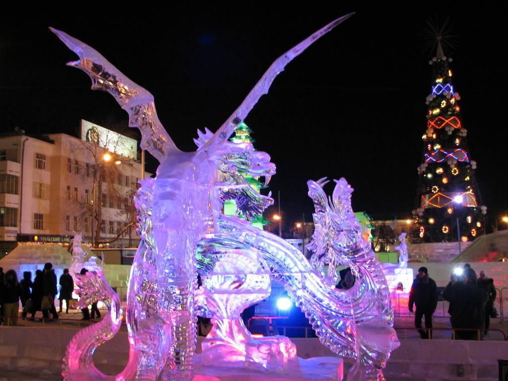Новый год в Екатеринбурге 2019