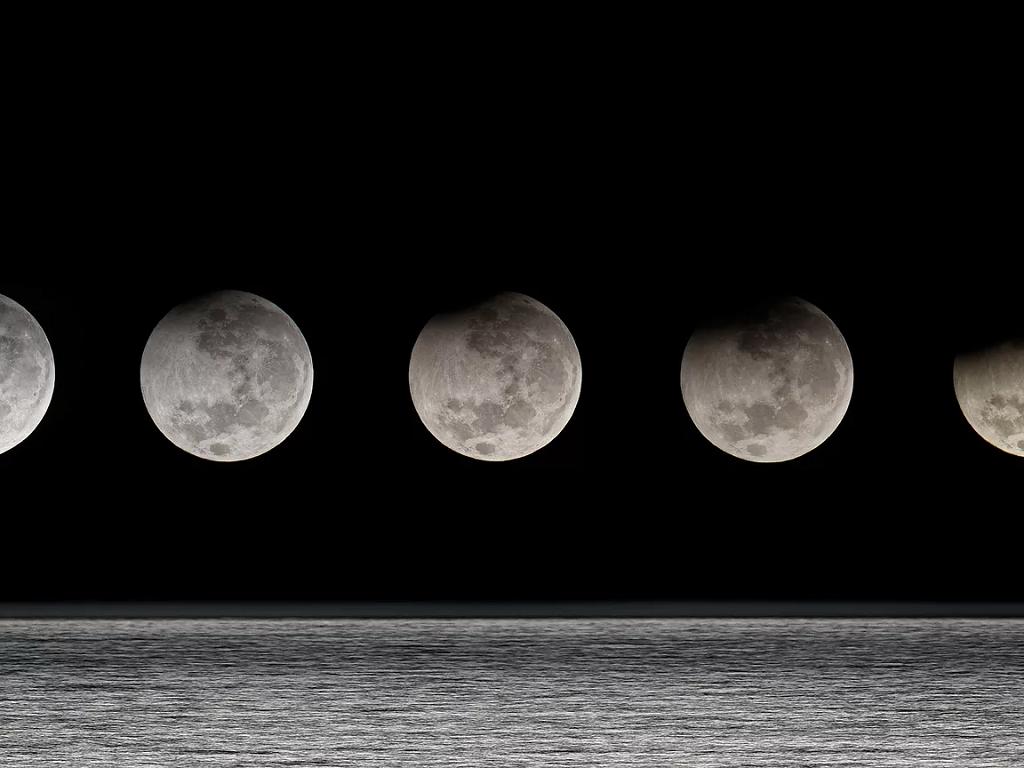 Полнолуние в октябре 2019 года, подробный лунный цикл