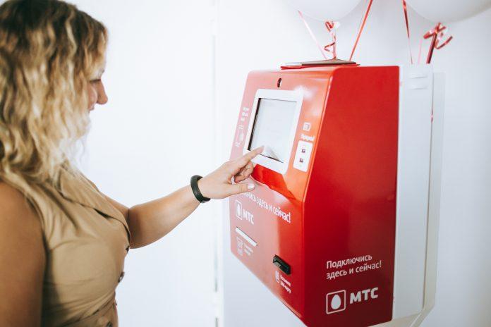 МТС запустил первый терминал для выдачи SIM-карт с распознаванием личности