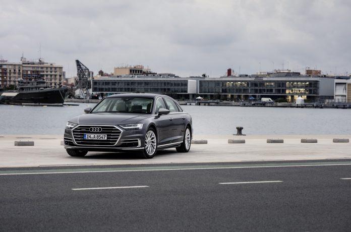 В Россию приехала самая мощная Audi A8