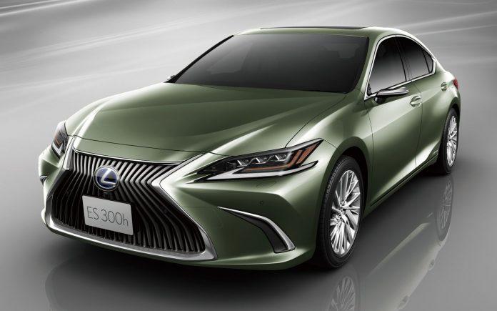 В продажу поступил первый Lexus без зеркал