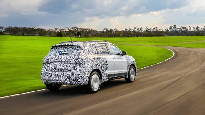 Volkswagen подготовил к премьере новый кроссовер