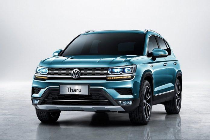 Стартовали продажи нового кроссовера Volkswagen Tharu в версии Tharu R-Line