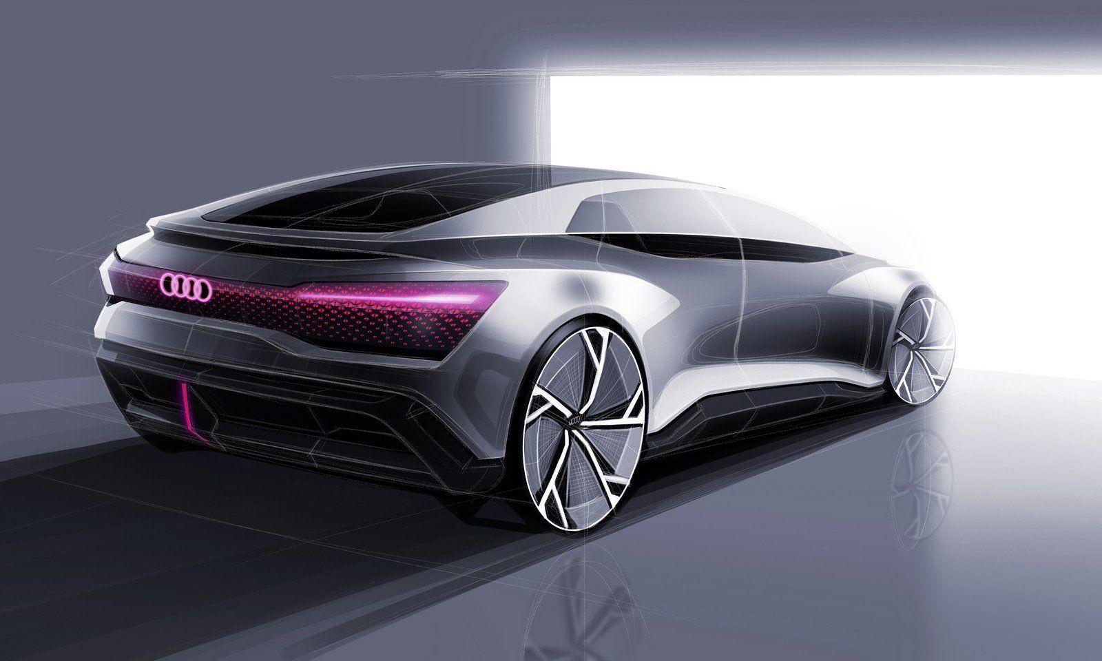 Audi бросит вызов Tesla с новым E Tron Gt