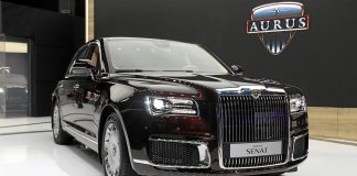 Российских чиновников пересадят на автомобили Aurus