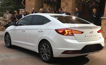 Hyundai привезет в Россию обновленный седан Elantra
