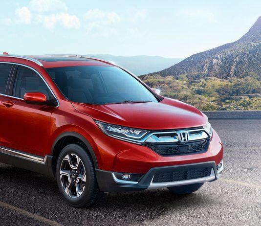 Honda представила новый кроссовер Honda CR-V 2019 в Детройте