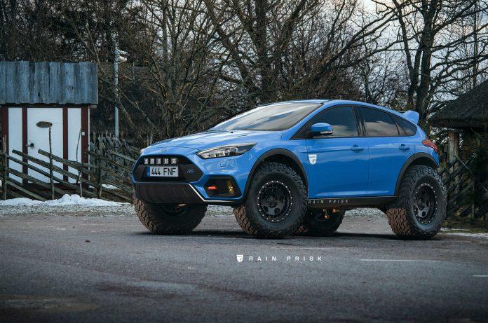 Ford Focus RS: хэтчбек для бездорожья, который мы заслуживаем