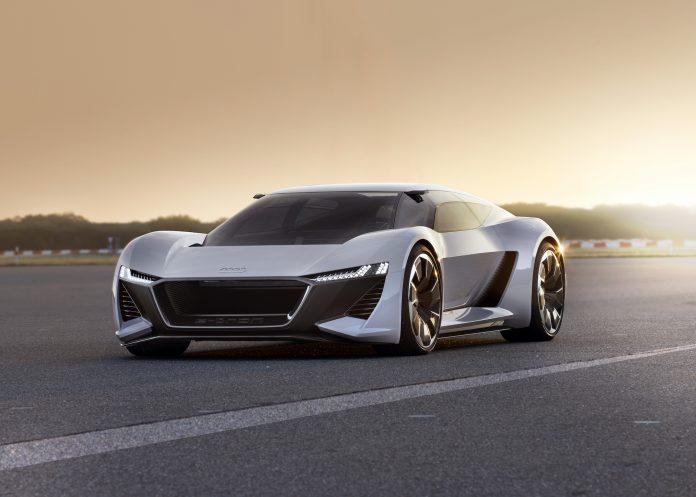 Суперкар Audi P18 E-Tron будет выпущен ограниченным тиражом