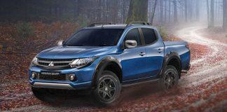 Mitsubishi представила в Москве обновленный пикап L200