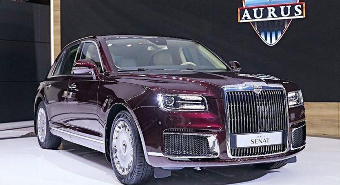 Автодилеры начнут принимать заказы на Aurus с 15 февраля